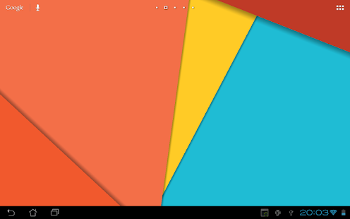 Material Design Live Wallpaper - screenshot