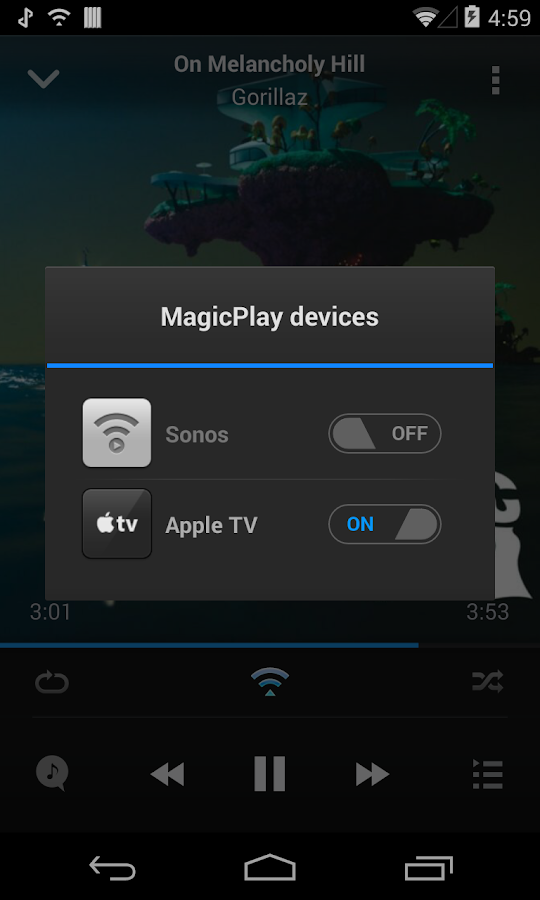 AirSync iTunes Sync & AirPlay - screenshot