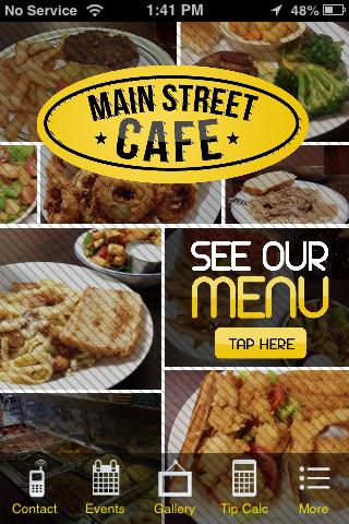 Main Street Cafe Flora MS
