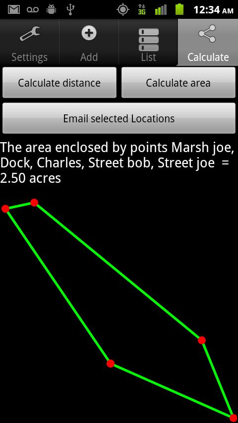 GPS Tape Measure Pro - screenshot