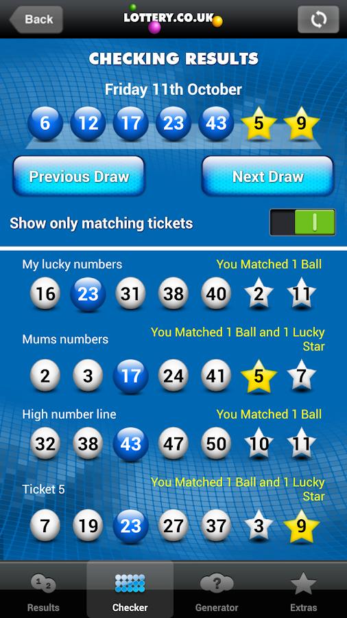 latest lottery