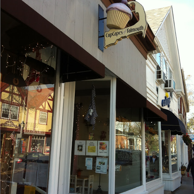 Stop here in Falmouth for wonderful gf cupcakes!