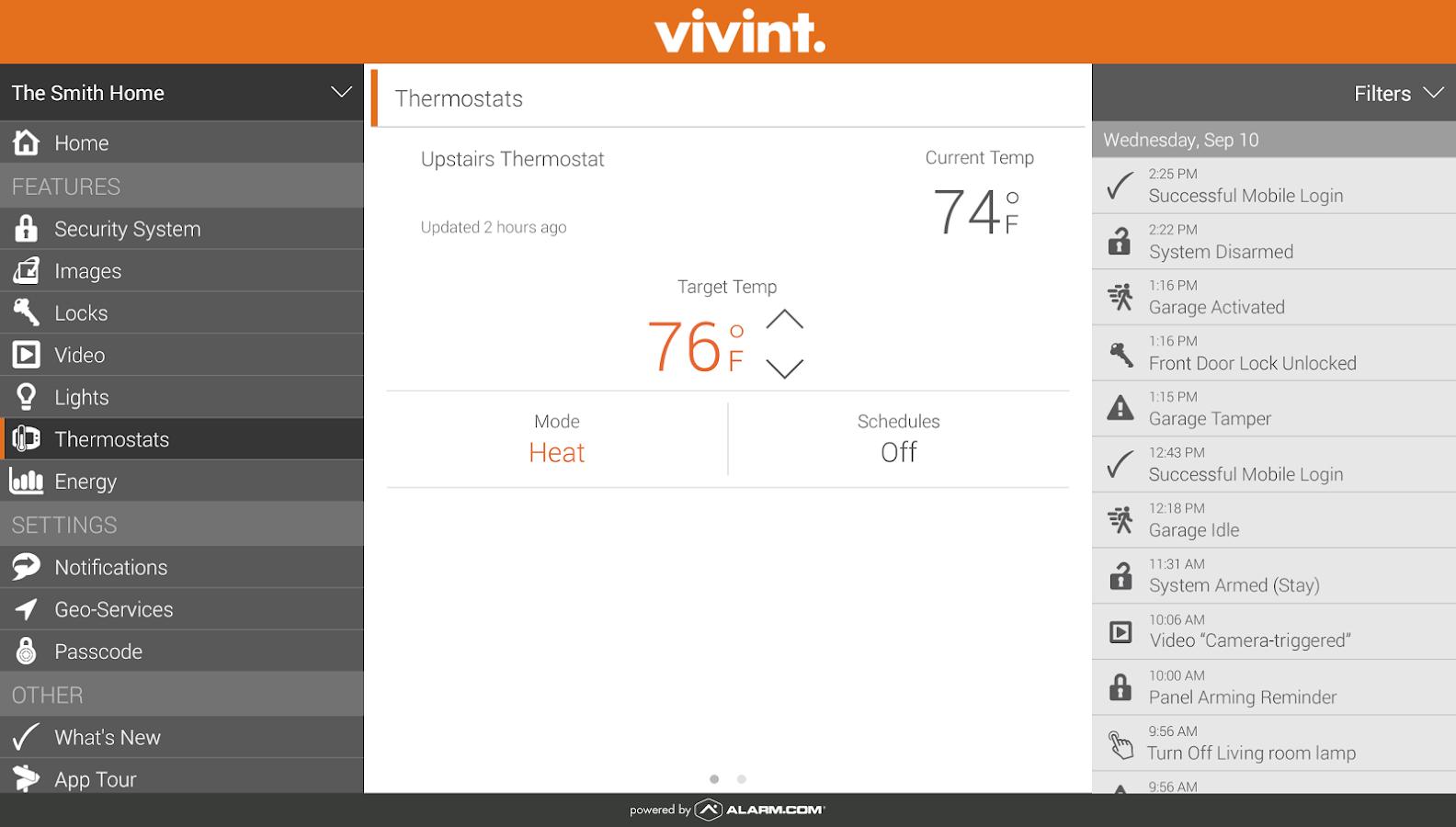 Vivint Classic - screenshot