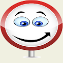 Placas de Transito Vermelha icon