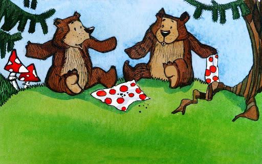 【免費書籍App】Two hungry bear - a tale-APP點子