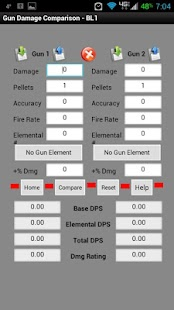 Borderlands DPS Calculator - screenshot thumbnail