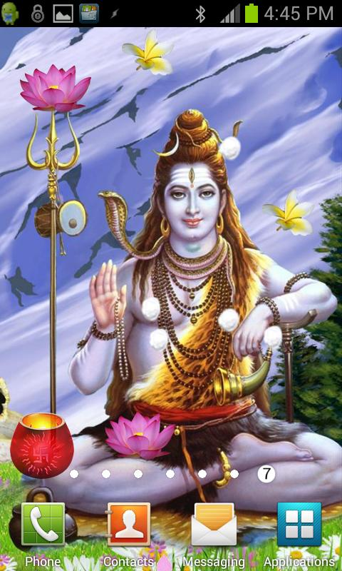 SHIVA Shivling Live Wallpaper- screenshot