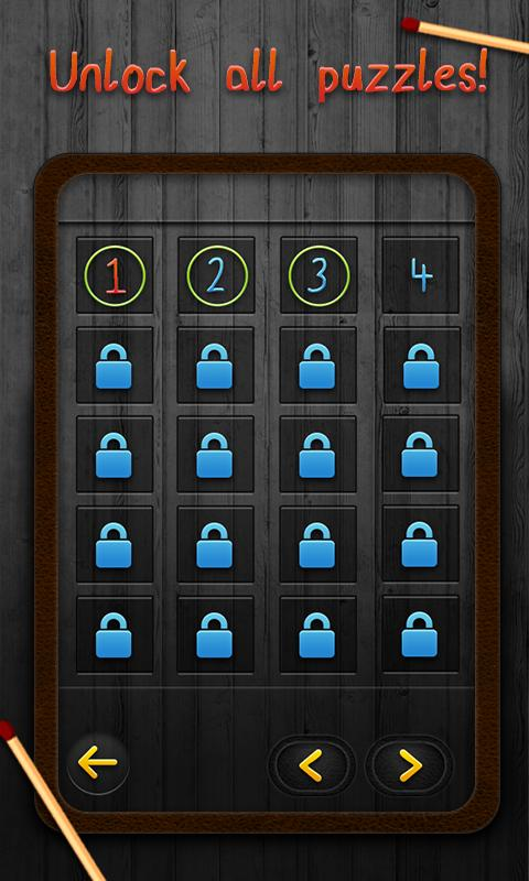 Matchstick Puzzles - screenshot