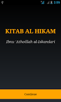 Screenshot of Kitab Al Hikam-Ibnu Athoillah