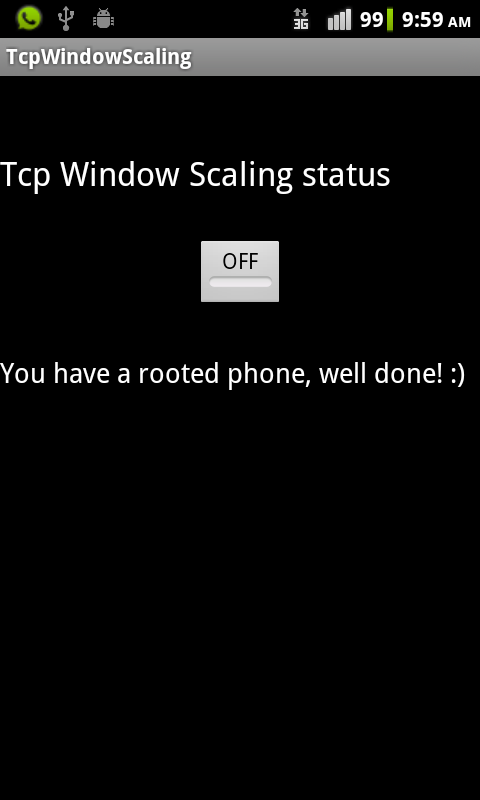 TcpWindowScaling - screenshot