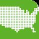 あそんでまなべる アメリカ地図パズル - Androidアプリ