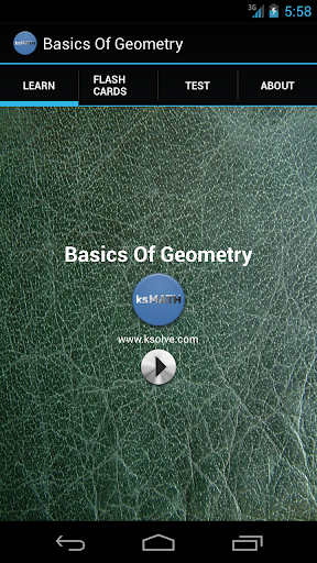 GEOMETRY - Basics of Geometry