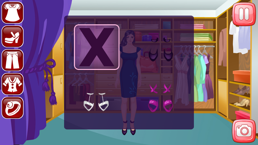 Design Clothes, dress up game, clothes shopping, dress girls