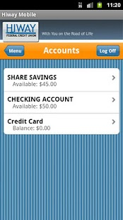 Hiway Federal Credit Union - screenshot thumbnail