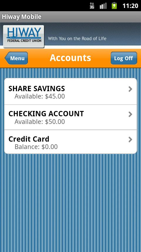 Hiway Federal Credit Union - screenshot