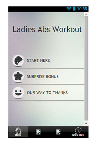 Ladies Abs Workout Guide
