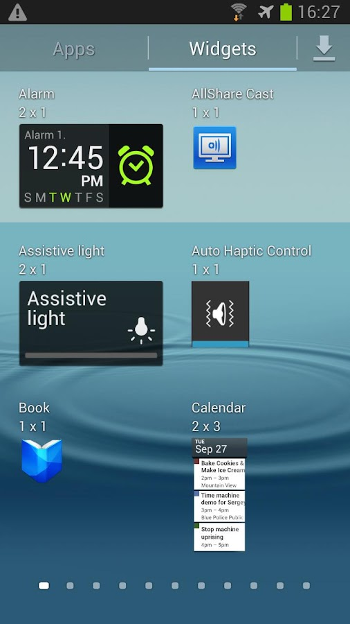 Auto Haptic Widget - screenshot