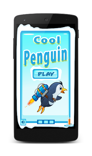 Cool Penguin Fly