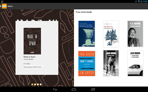 Fnac ebooks - screenshot thumbnail
