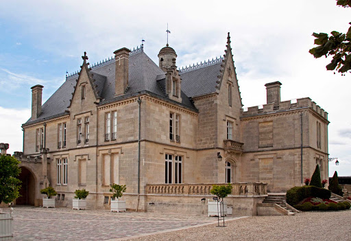 The Chateau of Pope Clement,  who assumed the papacy in 1342, in Bordeaux, France.
