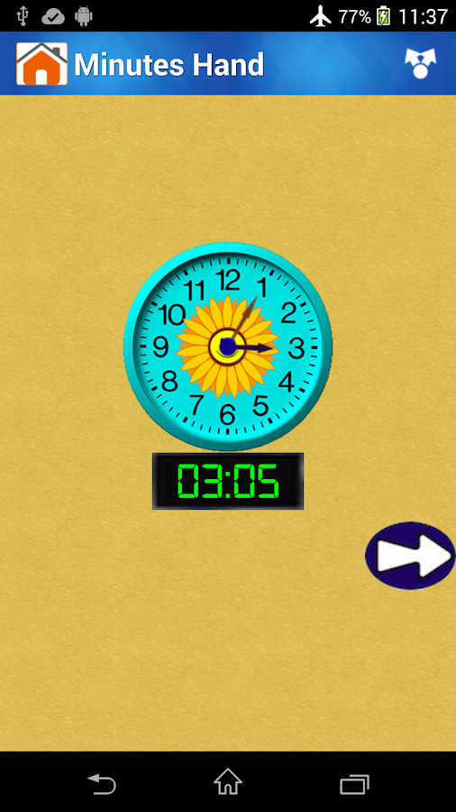 Clock Time Reading for Kids- screenshot