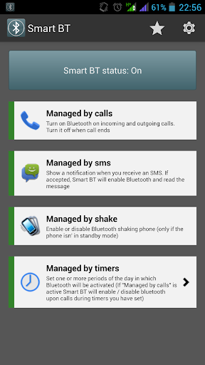 Smart BT - Auto Bluetooth