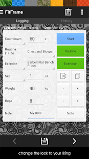 Workout, Fitness, Gym Log - screenshot thumbnail