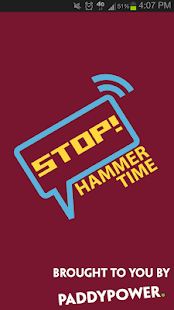 Stop! Hammer Time - WHUFC App - screenshot thumbnail