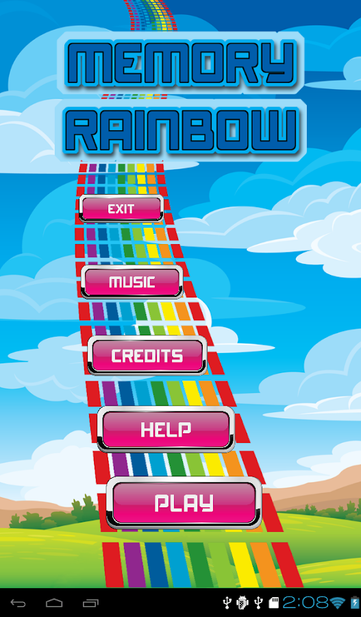 Memory Rainbow- screenshot