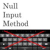 Null Input Method
