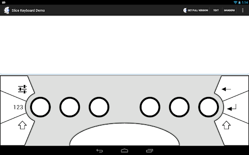 Slice Keyboard Demo - screenshot thumbnail