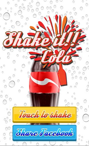 摇可乐汽水免费游戏应用程序
