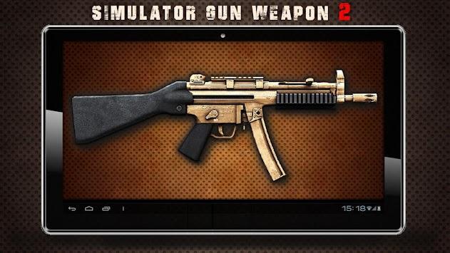 Simulator Gun Weapon 2 apk screenshot