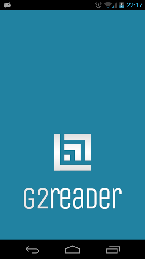 G2Reader | Google Reader | RSS - screenshot