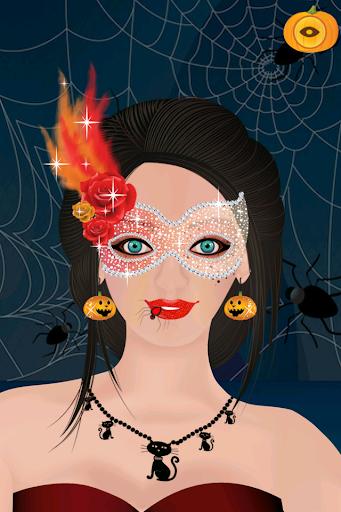 Halloween Girl Dress Up Game