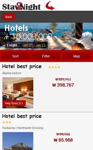 Melbourne Hotel Map