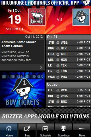 Milwaukee Admirals - screenshot