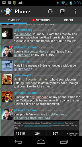 Screenshot for Plume Premium for Twitter in Hong Kong Play Store