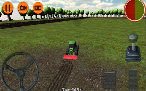 3D Tractor Simulator Farm Game 1.0 screenshots 1