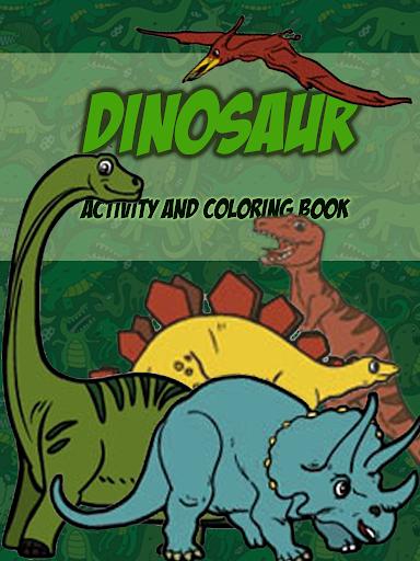Dinosaur Colring For Kids