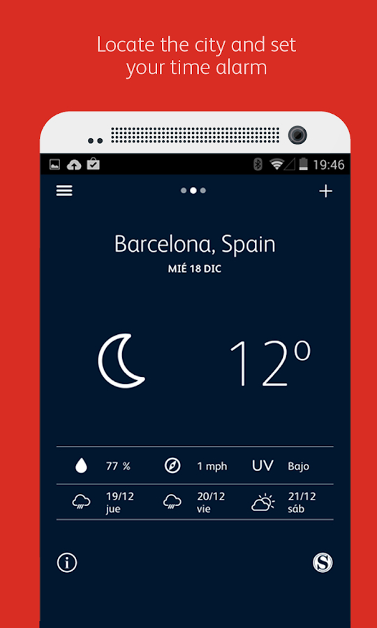 Meteo Alarm- screenshot