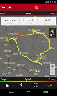 Runtastic Road Bike Tracker - screenshot thumbnail