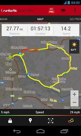 Runtastic Road Bike Tracker 2.2.1 screenshot 37472