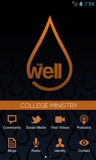 theWELL College Ministry