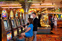 Try your luck at Casino Royale's games of chance, on deck 5 of Grandeur of the Seas.