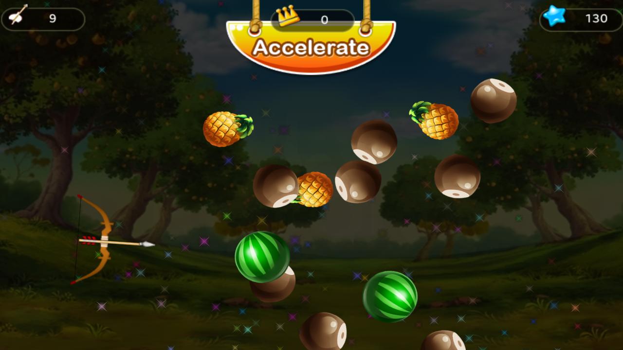 Fruit shoot game - Phone