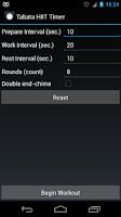 Screenshot of Tabata HIIT Timer (Ad free)