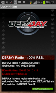DEFJAY Radio – 100% R&B - screenshot thumbnail