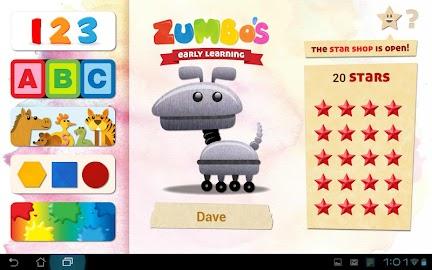 Zumbo's Early Learning Screenshot 2