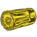 Battery snap location logo
